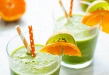 Smoothie kiwi épinards au thermomix