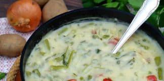 Soupe haricots et saucisses au thermomix