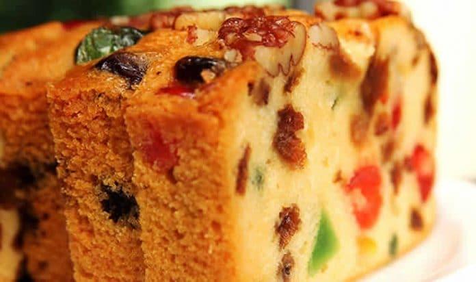 Cake moelleux aux fruits confits au thermomix
