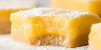 Carrés fondants au citron au thermomix