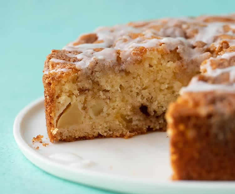 Gâteau léger aux pommes 1