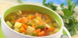Soupe gourmande à moins de 100 calories
