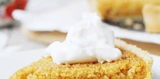 tarte au citron et sirop d'érable