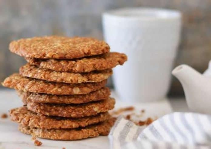 Biscuit d'avoine et noix de coco
