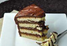 Cake glaçage chocolat au thermomix