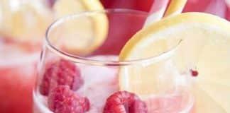 Cocktail framboise sans alcool au thermomix