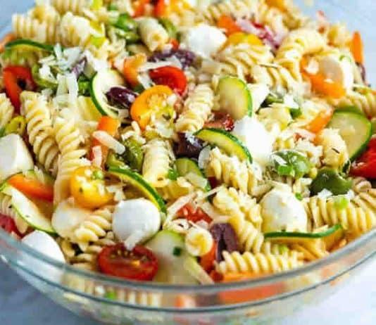 Salade de pâtes gourmande