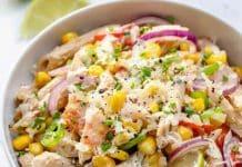 Salade penne à la mexicaine