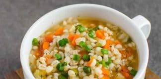 Soupe de légumes légère