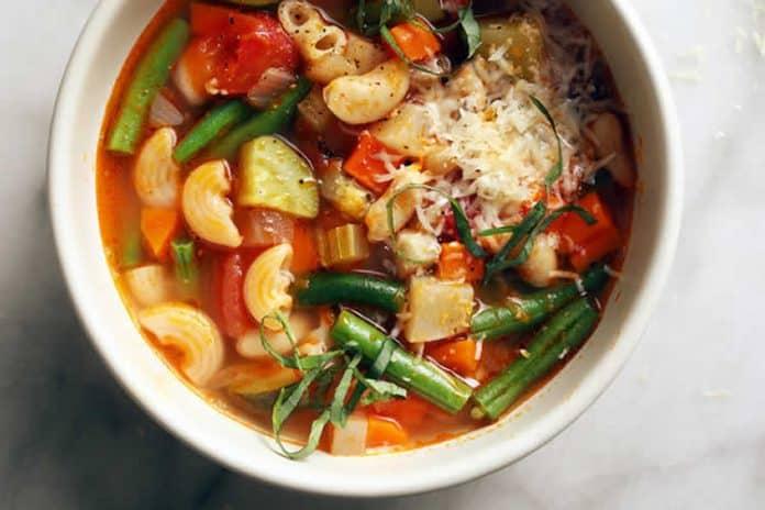 Soupe multi-légumes