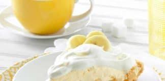 Tarte aux bananes à la crème