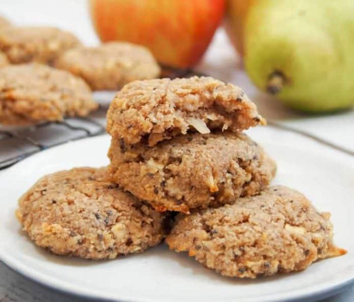 Biscuits aux pomme et poire