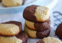 Biscuit à la vanille et au chocolat