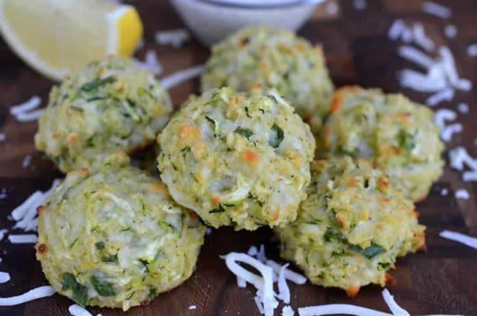 Boulettes de courgettes au mozzarella