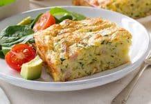Carrés aux courgettes et fromage