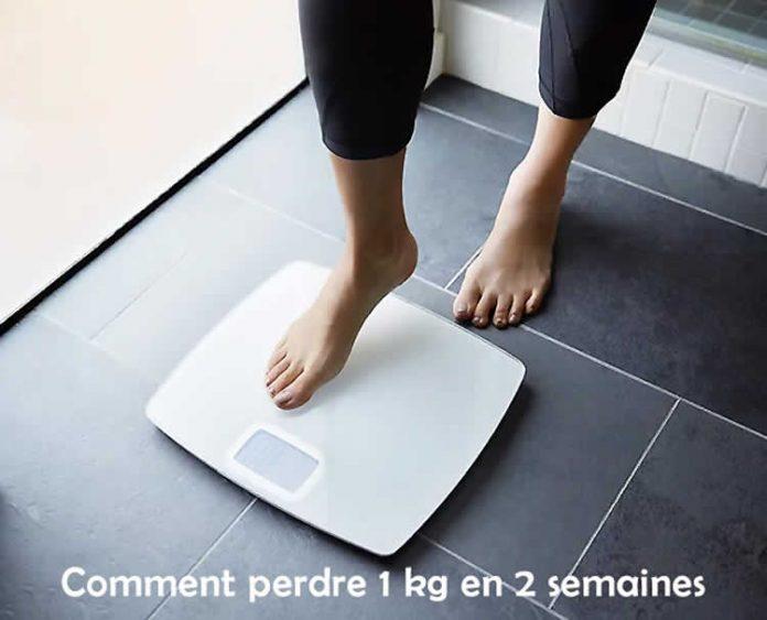 Comment perdre 1 kg en 2 semaines