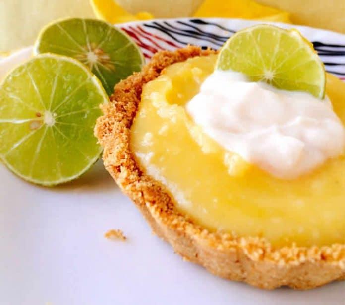 Mini tarte citron sans cuisson