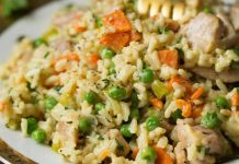 One pot poulet au riz au cookeo
