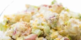 Salade froide de pommes de terre