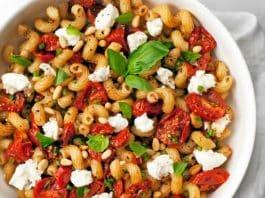 Salade pâtes tomates et mozzarella au cookeo