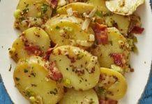 Salade pommes de terre et bacon