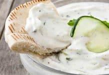 Sauce concombre au yaourt au thermomix