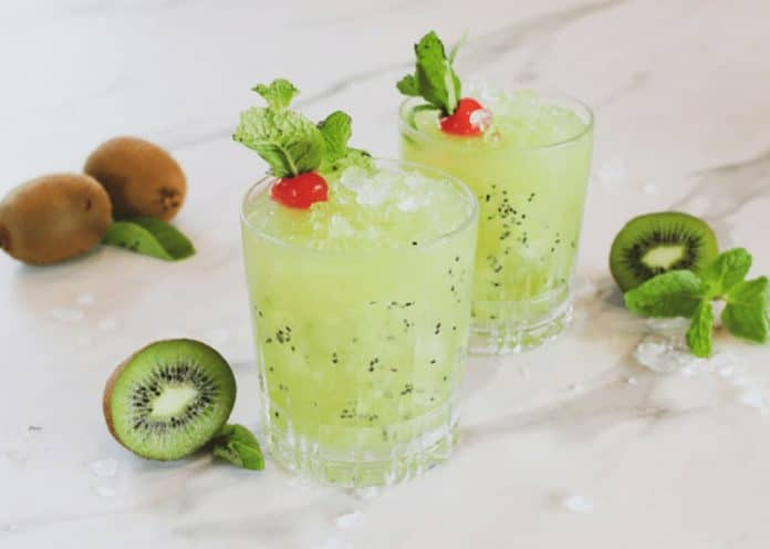 Cocktail kiwi au thermomix