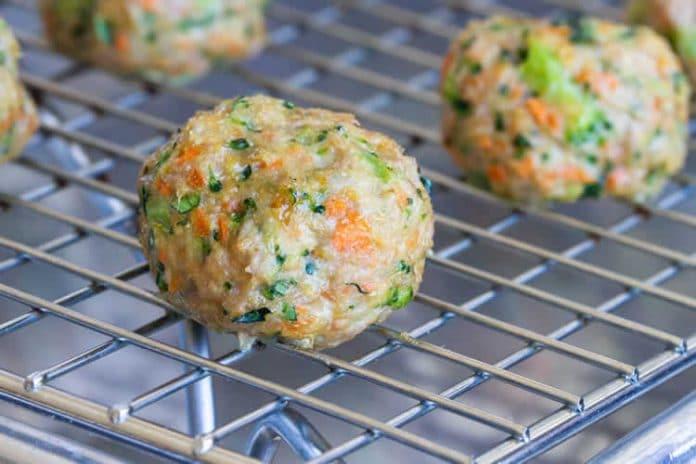 Boulettes de dinde aux légumes