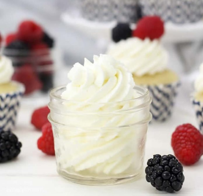 Crème chantilly mascarpone au thermomix