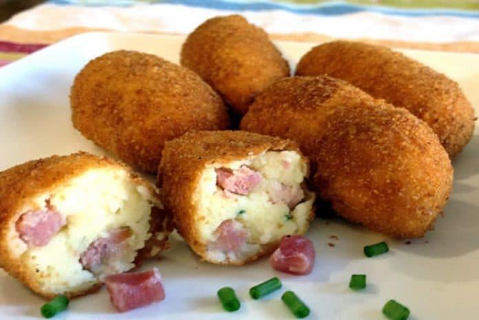Croquettes pommes de terre et bacon