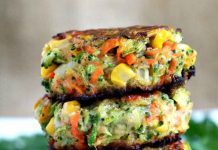 Galettes de légumes