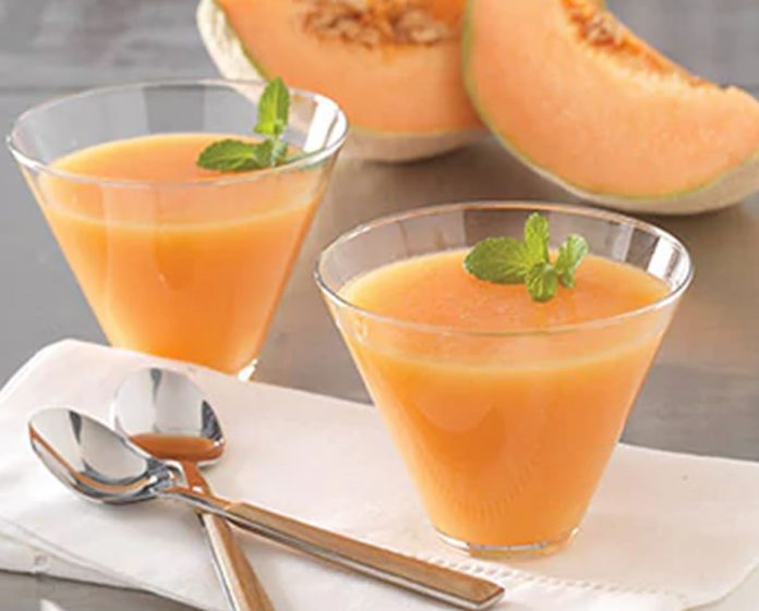 Gaspacho de melon au thermomix
