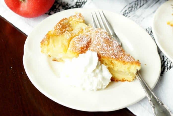 Gâteau aux pommes et fromage mascarpone