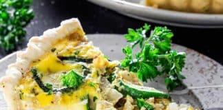 Quiche courgettes au fromage