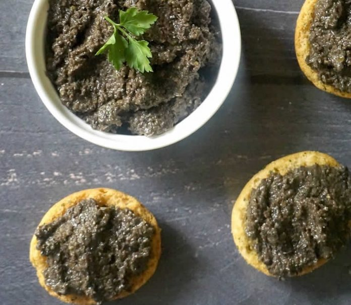 Tapenade noire facile au thermomix