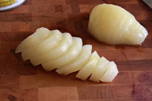 Tarte amandine aux poires 2