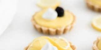 tartelette au citron dessert au thermomix