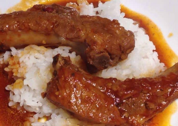 Côtes de porc à la sauce tomate au cookeo