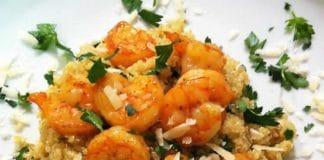 Crevettes au quinoa et curry au cookeo