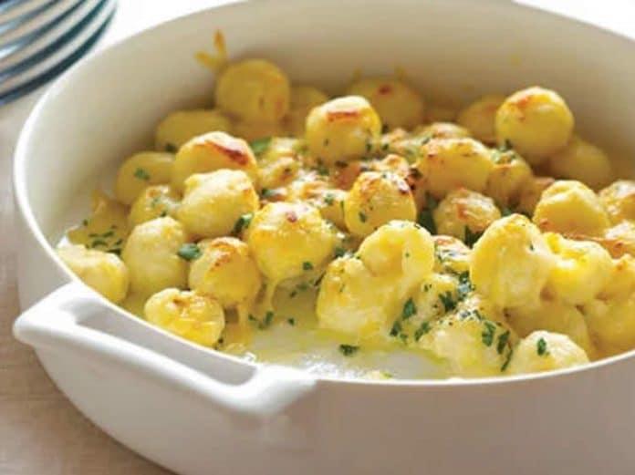 Gnocchi aux 4 fromages au cookeo