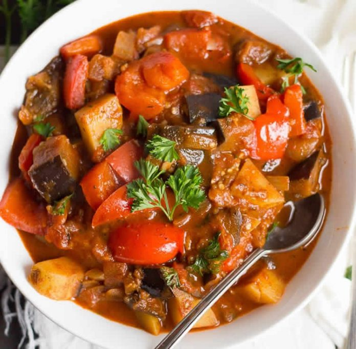 Goulash aux légumes au cookeo
