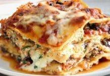 Lasagne à la dinde et aux deux fromages
