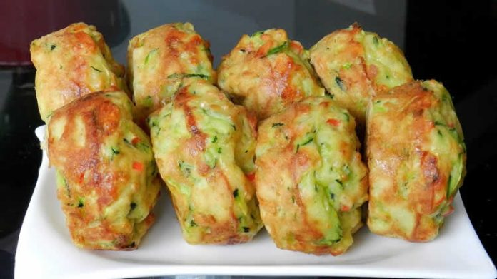 Muffin aux courgettes et fromage chèvre
