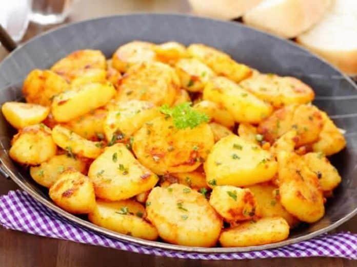 Pomme de terre au beurre cookeo