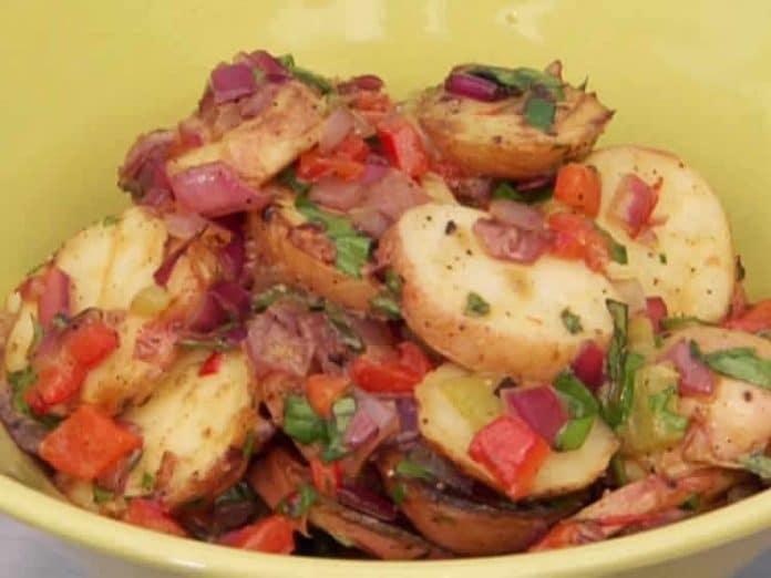Pommes de terre et poivron au cookeo