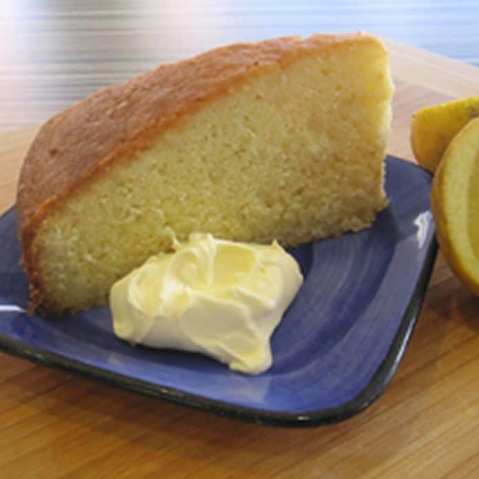 Quatre-quarts au citron