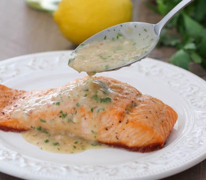 Sauce citron pour poisson