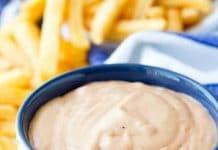 Sauce pour frites au thermomix