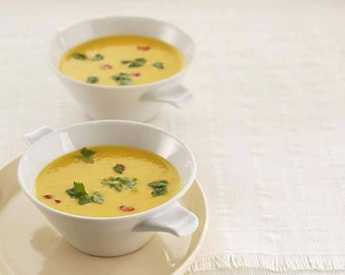 Soupe crémeuse aux carottes au thermomix
