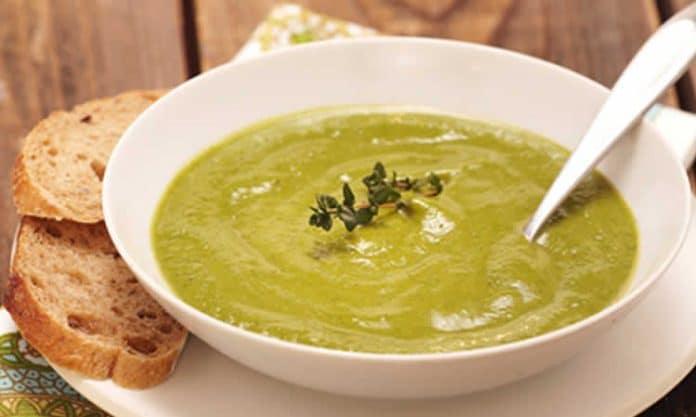 Soupe de poireaux et brocoli au thermomix